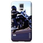 Чехол Yotrix ArtCase для Samsung Galaxy S5 SM-G900 (рисунок Мотоцикл, пластиковый)
