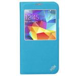 Чехол X-doria Dash Folio One case для Samsung Galaxy S5 SM-G900 (голубой, кожаный)