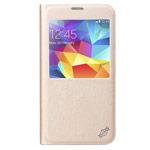 Чехол X-doria Dash Folio One case для Samsung Galaxy S5 SM-G900 (золотистый, кожаный)
