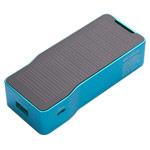 Внешняя батарея X-doria Aurora Solar Power Bank универсальная (синяя, 5200 mAh, microUSB)
