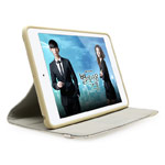 Чехол X-doria SmartStyle Slim case для Apple iPad Air (белый, матерчатый)