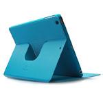Чехол X-doria Dash Folio Spin case для Apple iPad Air (голубой, кожаный)