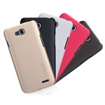 Чехол Nillkin Hard case для LG L90 D410 (красный, пластиковый)