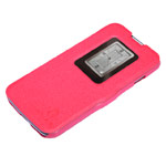 Чехол Nillkin Fresh Series Leather case для LG L90 D410 (красный, кожаный)