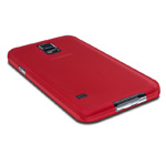 Чехол WhyNot Ultrathin Case для Samsung Galaxy S5 SM-G900 (красный, пластиковый) (NPG)
