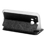 Чехол WhyNot Folio Case для HTC new One (HTC M8) (черный, кожаный) (NPG)