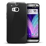 Чехол WhyNot Soft Case для HTC new One (HTC M8) (черный, гелевый) (NPG)