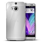 Чехол WhyNot Soft Case для HTC new One (HTC M8) (белый, гелевый) (NPG)