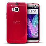 Чехол WhyNot Soft Case для HTC new One (HTC M8) (красный, гелевый) (NPG)