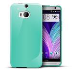 Чехол WhyNot Soft Case для HTC new One (HTC M8) (голубой, гелевый) (NPG)