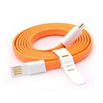 USB-кабель Vojo Trim универсальный (оранжевый, 1.2 метра, microUSB, магнитный)