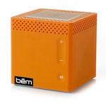 Портативная колонка bem wireless Mobile Speaker (оранжевая, беспроводная, моно)