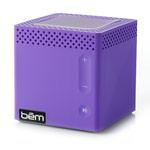 Портативная колонка bem wireless Mobile Speaker (фиолетовая, беспроводная, моно)