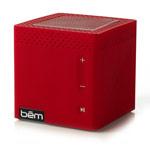 Портативная колонка bem wireless Mobile Speaker (красная, беспроводная, моно)