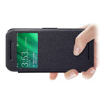 Чехол Nillkin Fresh Series Leather case для HTC One mini 2 (HTC M8 mini) (черный, кожаный)