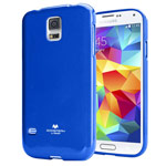 Чехол Mercury Goospery Jelly Case для Samsung Galaxy S5 SM-G900 (синий, гелевый)