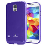 Чехол Mercury Goospery Jelly Case для Samsung Galaxy S5 SM-G900 (фиолетовый, гелевый)