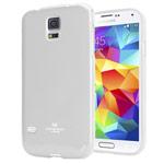 Чехол Mercury Goospery Jelly Case для Samsung Galaxy S5 SM-G900 (белый, гелевый)