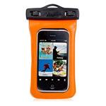 Чехол Yotrix WaterproofCase универсальный влагозащищенный (оранжевый, для телефонов 3.5-4.0