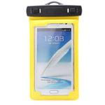 Чехол Yotrix WaterproofCase универсальный влагозащищенный (желтый, для телефонов 5.0-6.0