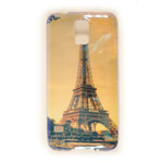 Чехол Yotrix CreativeCase для Samsung Galaxy S5 SM-G900 (Eiffel Tower, гелевый) (NPG)