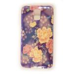 Чехол Yotrix CreativeCase для Samsung Galaxy S5 SM-G900 (Flowers, гелевый) (NPG)