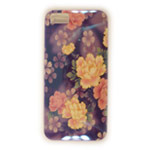 Чехол Yotrix CreativeCase для Apple iPhone 5/5S (Purple Flowers, гелевый) (NPG)