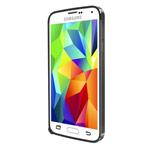 Чехол Yotrix BumperCase для Samsung Galaxy S5 SM-G900 (черный, алюминиевый)
