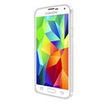 Чехол Yotrix BumperCase для Samsung Galaxy S5 SM-G900 (серебристый, алюминиевый)