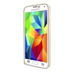 Чехол Yotrix BumperCase для Samsung Galaxy S5 SM-G900 (золотистый, алюминиевый)