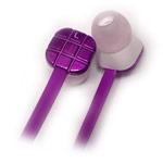 Наушники Meifu MF-094 (фиолетовые, без микрофона, 20-20000 Гц, 10 мм)
