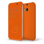 Чехол Yotrix DotCase для HTC new One (HTC M8) (оранжевый, пластиковый)