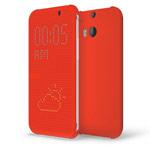 Чехол Yotrix DotCase для HTC new One (HTC M8) (красный, пластиковый)