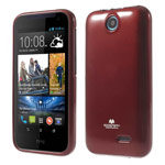 Чехол Mercury Goospery Jelly Case для HTC Desire 310 D310W (красный, гелевый)