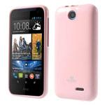Чехол Mercury Goospery Jelly Case для HTC Desire 310 D310W (розовый, гелевый)