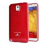 Чехол Mercury Goospery Jelly Case для Samsung Galaxy Note 3 N9000 (красный, гелевый)