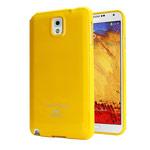 Чехол Mercury Goospery Jelly Case для Samsung Galaxy Note 3 N9000 (оранжевый, гелевый)