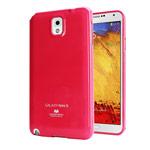 Чехол Mercury Goospery Jelly Case для Samsung Galaxy Note 3 N9000 (малиновый, гелевый)