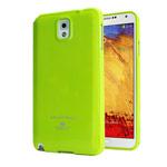 Чехол Mercury Goospery Jelly Case для Samsung Galaxy Note 3 N9000 (зеленый, гелевый)