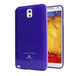 Чехол Mercury Goospery Jelly Case для Samsung Galaxy Note 3 N9000 (фиолетовый, гелевый)