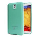 Чехол Mercury Goospery Jelly Case для Samsung Galaxy Note 3 N9000 (бирюзовый, гелевый)