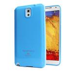 Чехол Mercury Goospery Jelly Case для Samsung Galaxy Note 3 N9000 (голубой, гелевый)