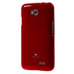Чехол Mercury Goospery Jelly Case для LG L70 D325 (красный, гелевый)
