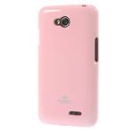 Чехол Mercury Goospery Jelly Case для LG L70 D325 (розовый, гелевый)