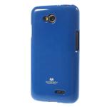 Чехол Mercury Goospery Jelly Case для LG L70 D325 (синий, гелевый)