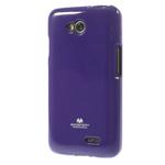 Чехол Mercury Goospery Jelly Case для LG L70 D325 (фиолетовый, гелевый)