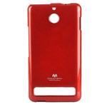Чехол Mercury Goospery Jelly Case для Sony Xperia E1 (красный, гелевый)