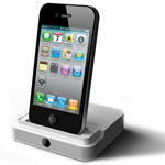Dock-станция Noosy HDMI Adapter Dock для Apple iPhone 4/iPad 2 (белая)
