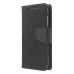 Чехол Mercury Goospery Fancy Diary Case для HTC Desire 610 (черный, кожаный)