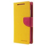 Чехол Mercury Goospery Fancy Diary Case для HTC Desire 610 (желтый, кожаный)